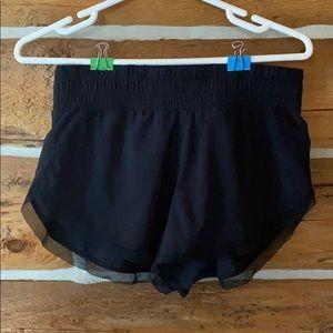 Lululemon speed shorts black 6